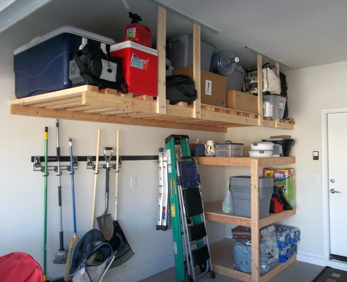 Image Of Ceiling Garage Storage Diyceiling Ideas Sloped Solutions Dapur