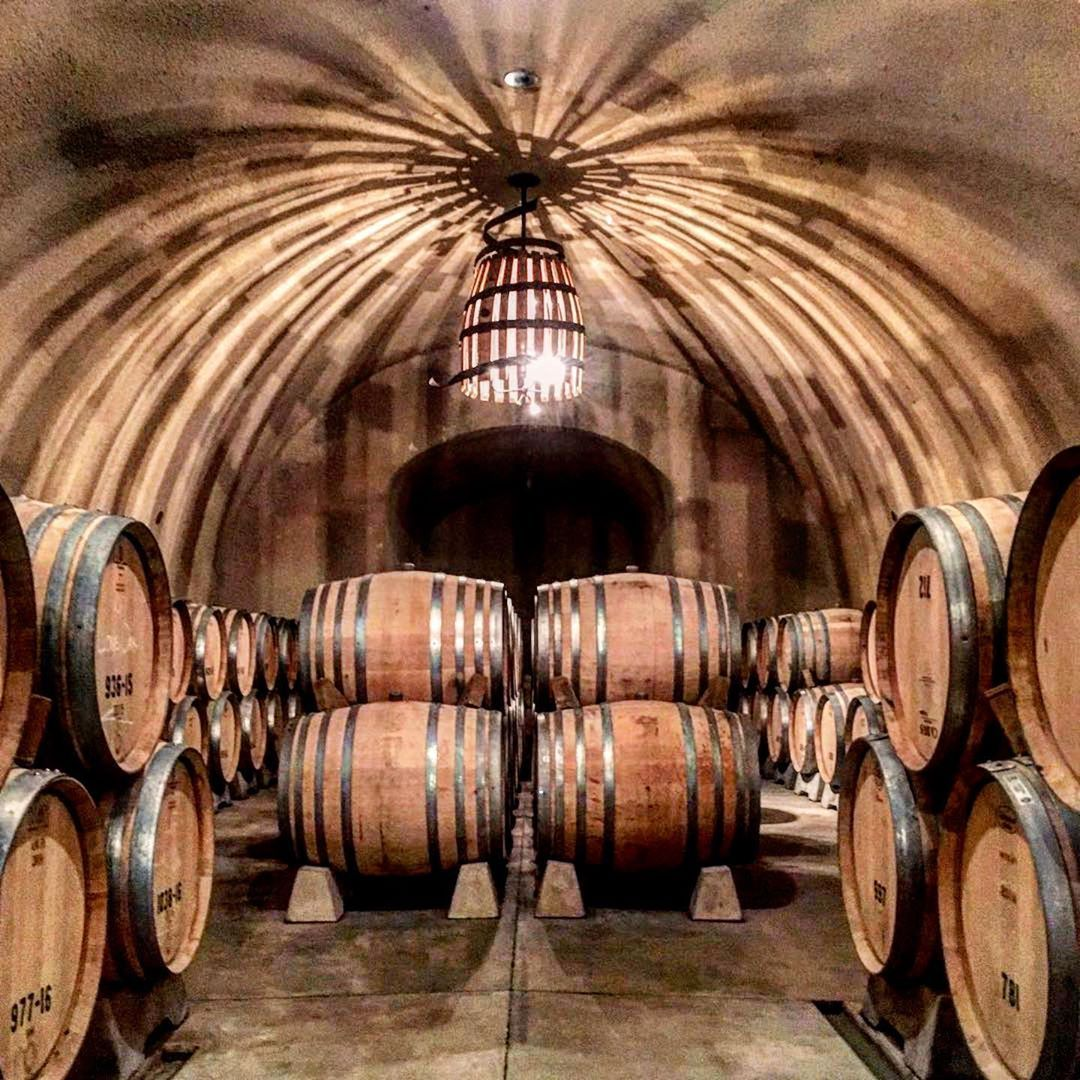 Amazing time spelunking the cave at Hanzell Vineyards 🍷   Cheers epicureans! 🥂   Thanks @winedestinations for sharing!  ______________  friends