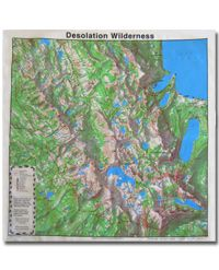 Bandana Topo Map Desolation Wilderness (others too!) | Maps ... on