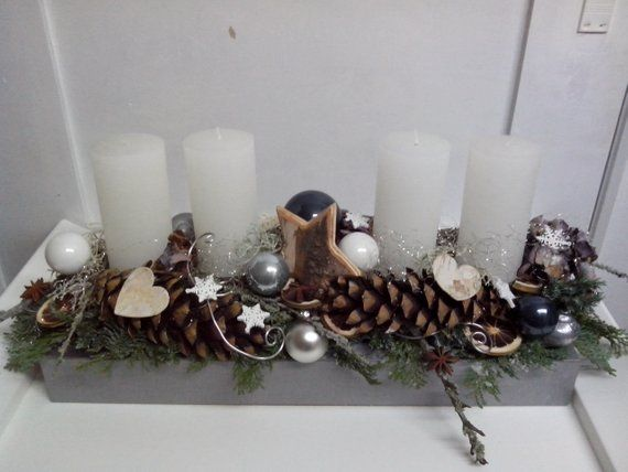 advent bacon long with four candles stroiki. Black Bedroom Furniture Sets. Home Design Ideas