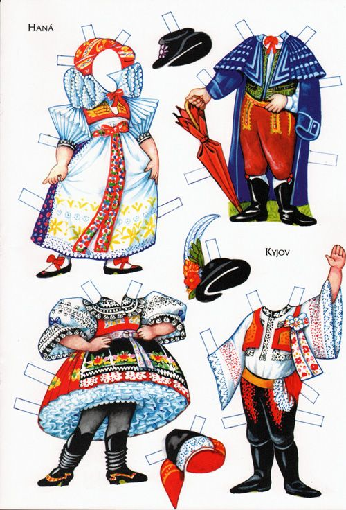 This artist does wonderfully detailed work.  Really knows his/her folk costumes.