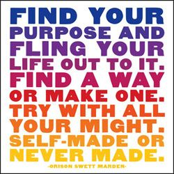 self-made or never made ..