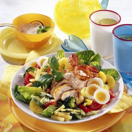 California-Salat mit Grill-Hähnchenfilet Rezept