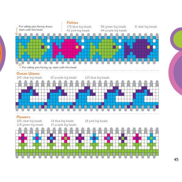 Safety Pin Bracelet Patterns