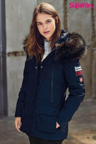 2d89550ada Buy Superdry Navy Canadian Ski Parka from the Next UK online shop ...