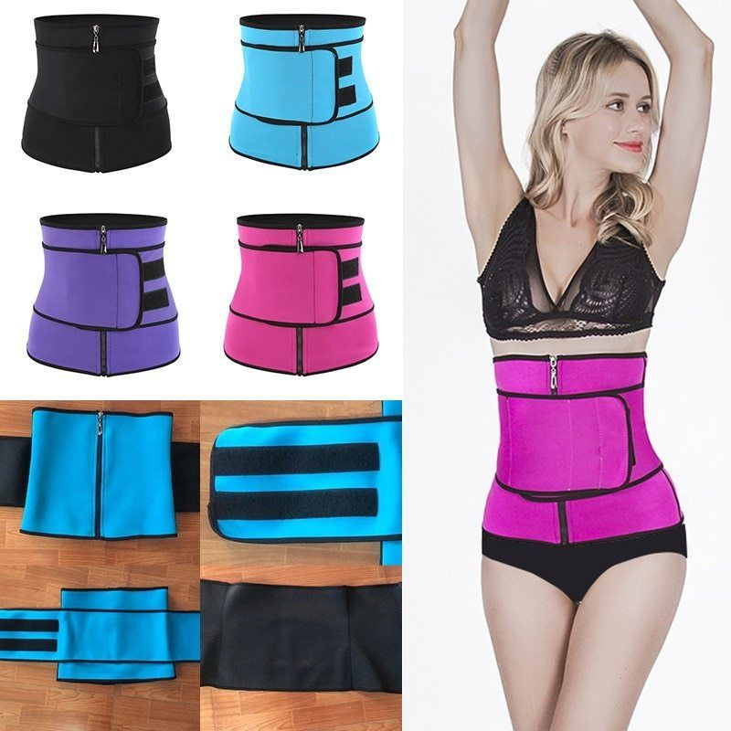 Waist Support Shapewear Waist Training Corset Shaper Cincher Belt Slimming Women Yoga Fitness Belt L...