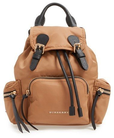 burberry backpack women's