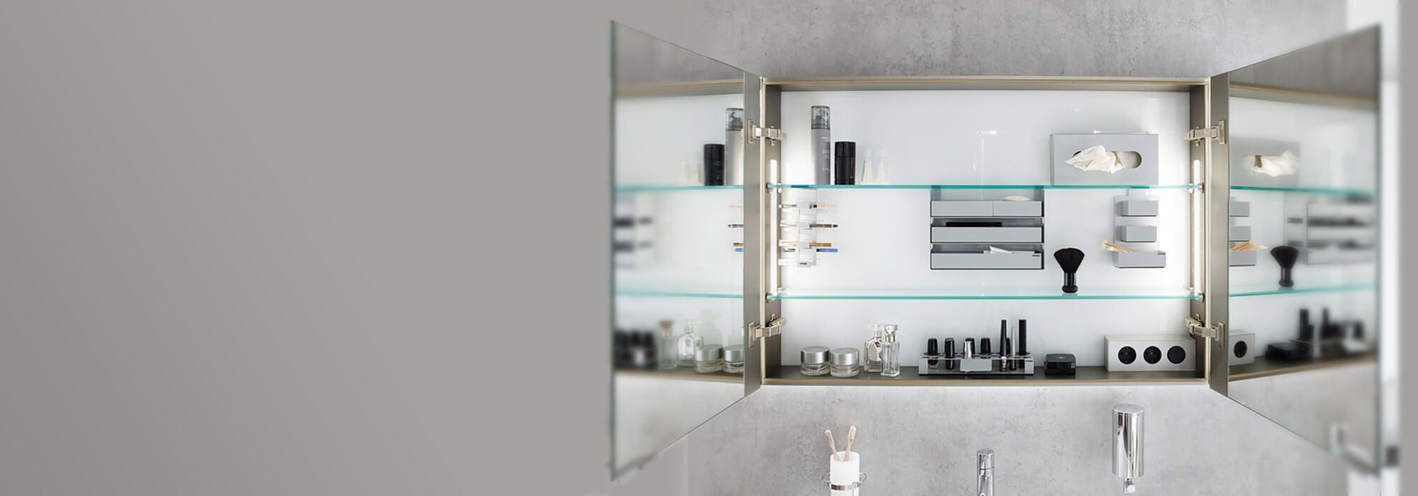 Ordnung In Bestform Spiegelschrank Bad Schrank