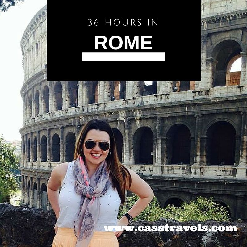 A Whirlwind Weekend in Rome