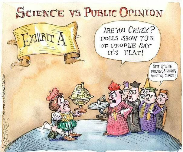 Image result for exhibit a cartoon science vs. public opinion