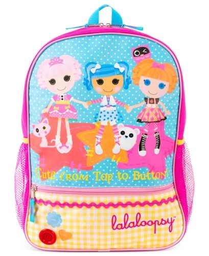 Lalaloopsy Kids Backpack, Girls or Little Girls Backpack from ...