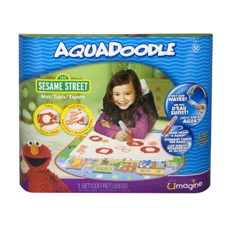 Amazon.com : AquaDoodle - Mat - Elmo : Childrens Drawing Pads And Books : Toys & Games