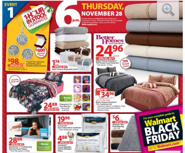 Black Friday Deal On Bedding At Walmart Check Out Those Sheets Black Friday Prices Black Friday Ads Walmart Black Friday Ad