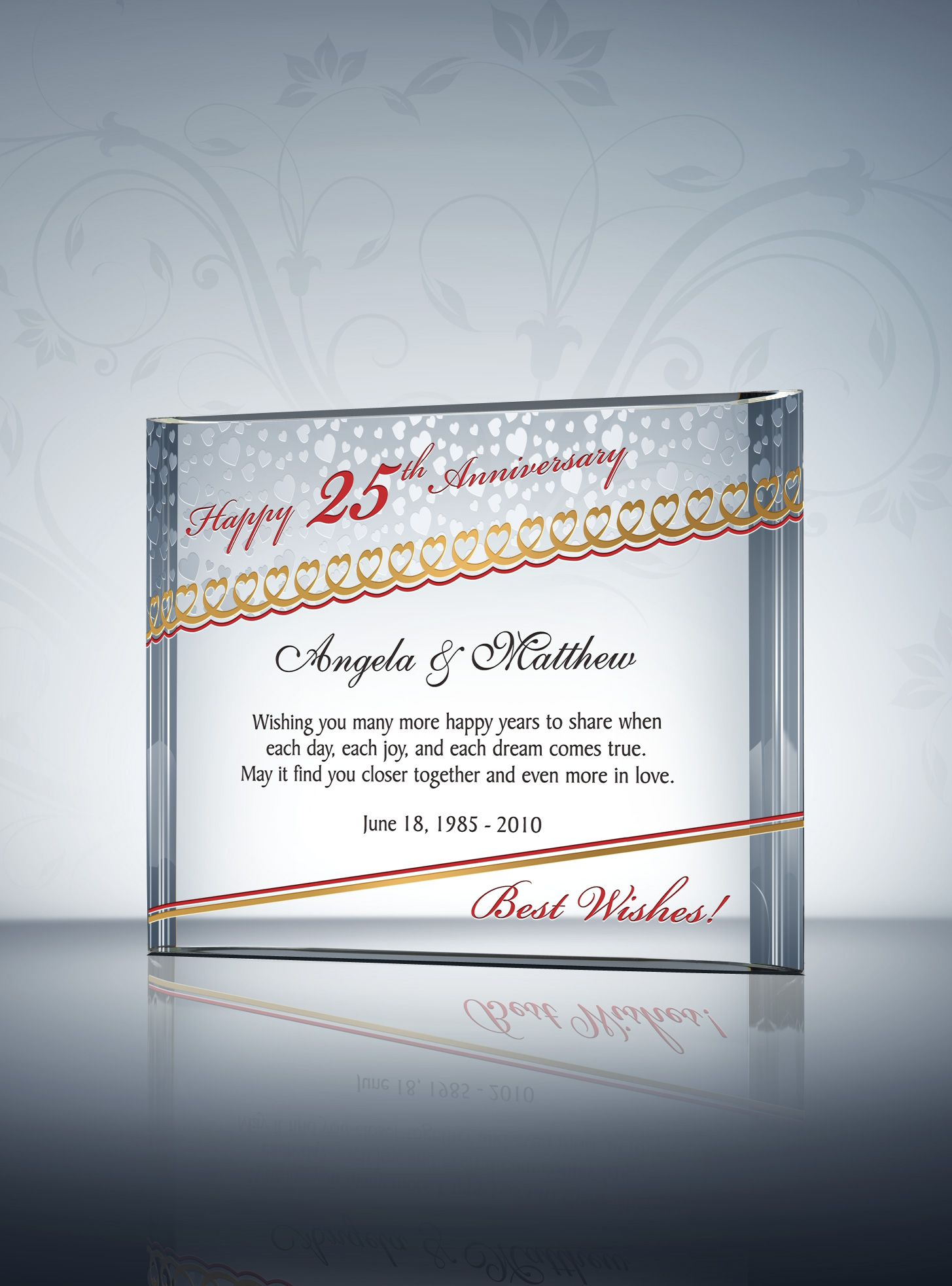 25th silver wedding anniversary gifts wedding anniversary