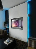 tv wand maken google zoeken - Tv Wand