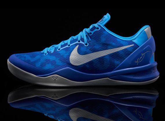 outlet store 16861 6358d Nike Kobe VIII Duke colorway