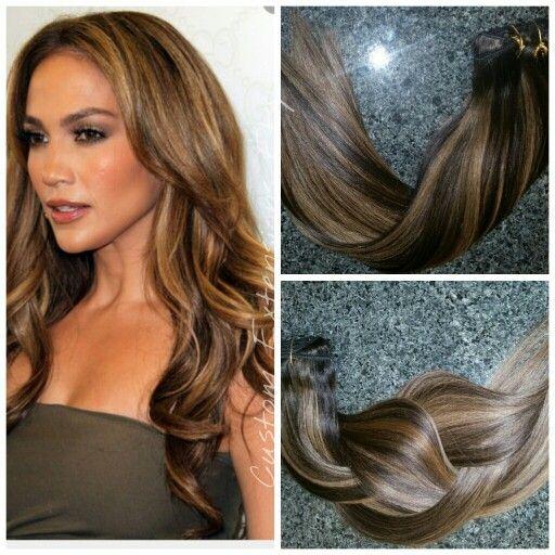 Jlo hair extensions caramel brown balayage pinterest hair jlo hair extensions pmusecretfo Images