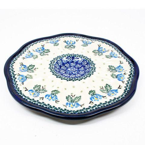 polish-pottery-egg-plate-#1231 $75