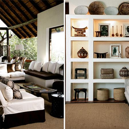 Africa home interior modern contemporary african theme for African home designs