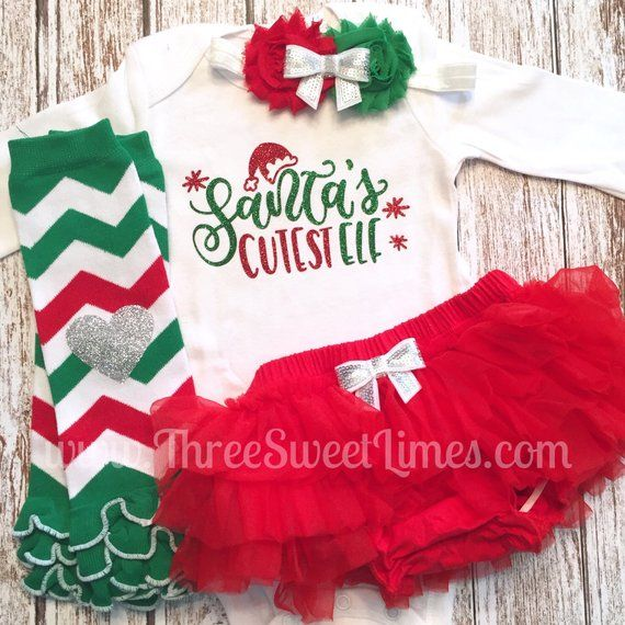 773b176cfe8d Baby Girl Christmas Outfit