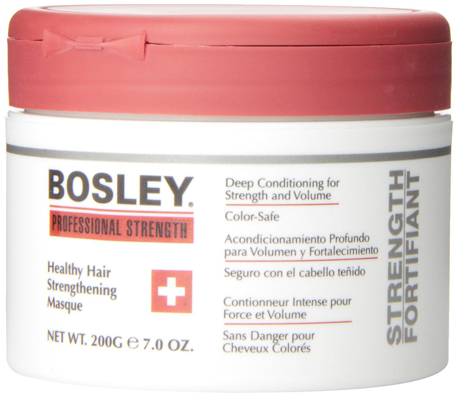 Bosley Healthy Hair Strengthening Masque, 7 Ounce *** This