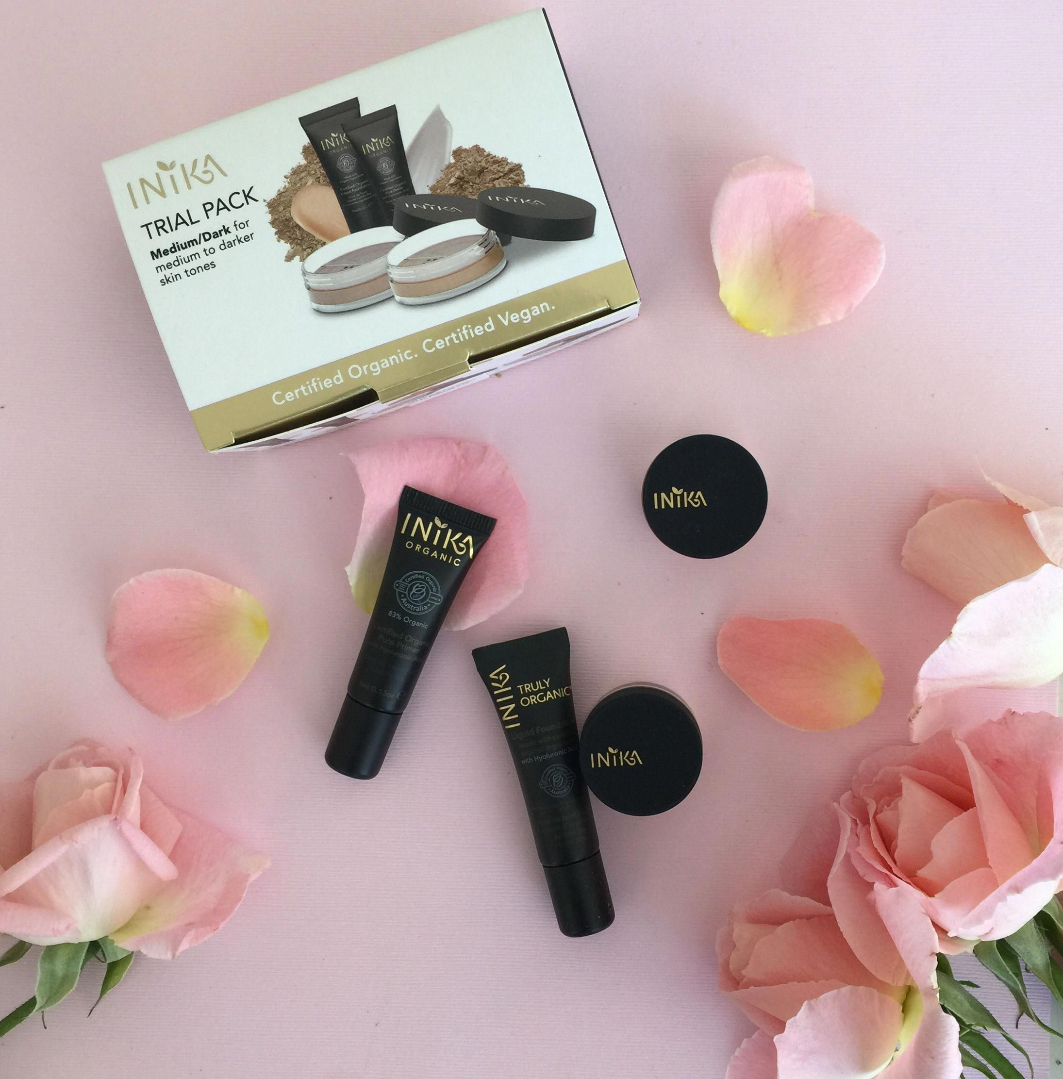Genius Inika Organic Trial Kits A Week S Worth Of Makeup To Play With And Find Your Shade Too Tooface Organic Makeup Makeup Trial Organic Liquid Foundation