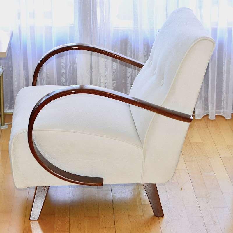 Traum Art Deco Fauteuil Halabala Typ C Bestens Restauriert Viele Fotos Fauteuil Deco