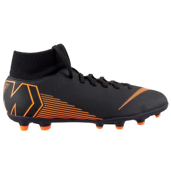 Nike Mercurial Superfly 6 Club Mg Fg Soccer Cleats Black Orange Soccer Cleats Soccer Cleats Nike Cleats