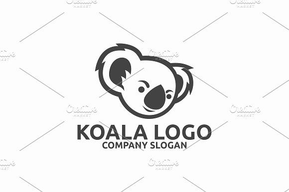 Koala Logo | Pinterest | Logos, Logo templates and Brochures