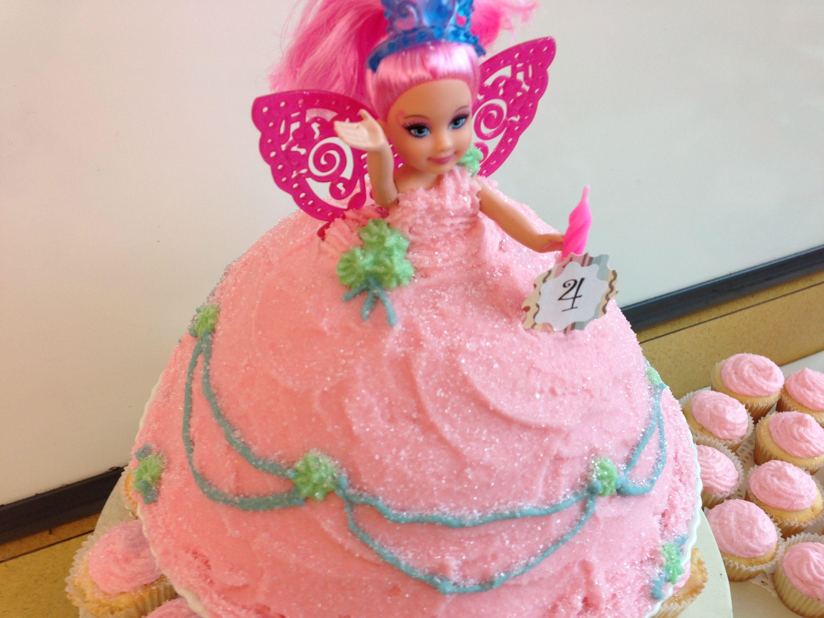 Tiny fairy princess cake!