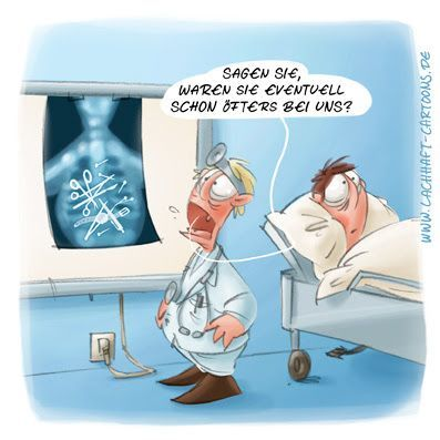 ACHHAFT Cartoon Röntgenbild Aufnahme Pfusch Arzt Arztbesuch Doktor  Krankenhaus OP Operation Schere vergessen Gegenstand Diag… | Krankenhaus  humor, Krankenhaus, Arzt