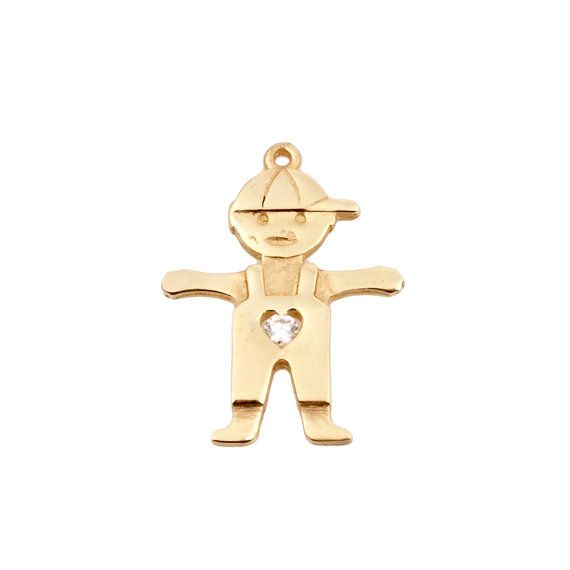 Baby boy gold necklace with diamond 14k gold pendant new baby baby boy gold necklace with diamond 14k gold pendant new baby gift new aloadofball Choice Image