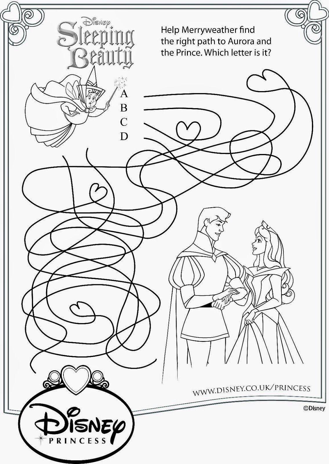 Sleeping Beauty Coloring Pages Disney Sleeping Beauty Disney