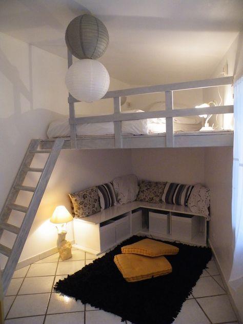 Résultats de recherche d\'images pour « mezzanine chambre ado ...