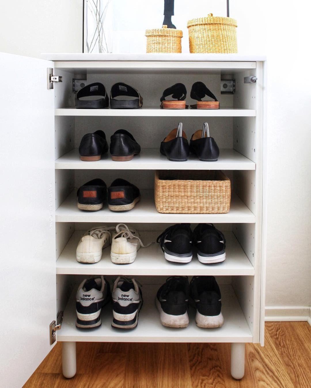 Ikea Closet Shoe Storage