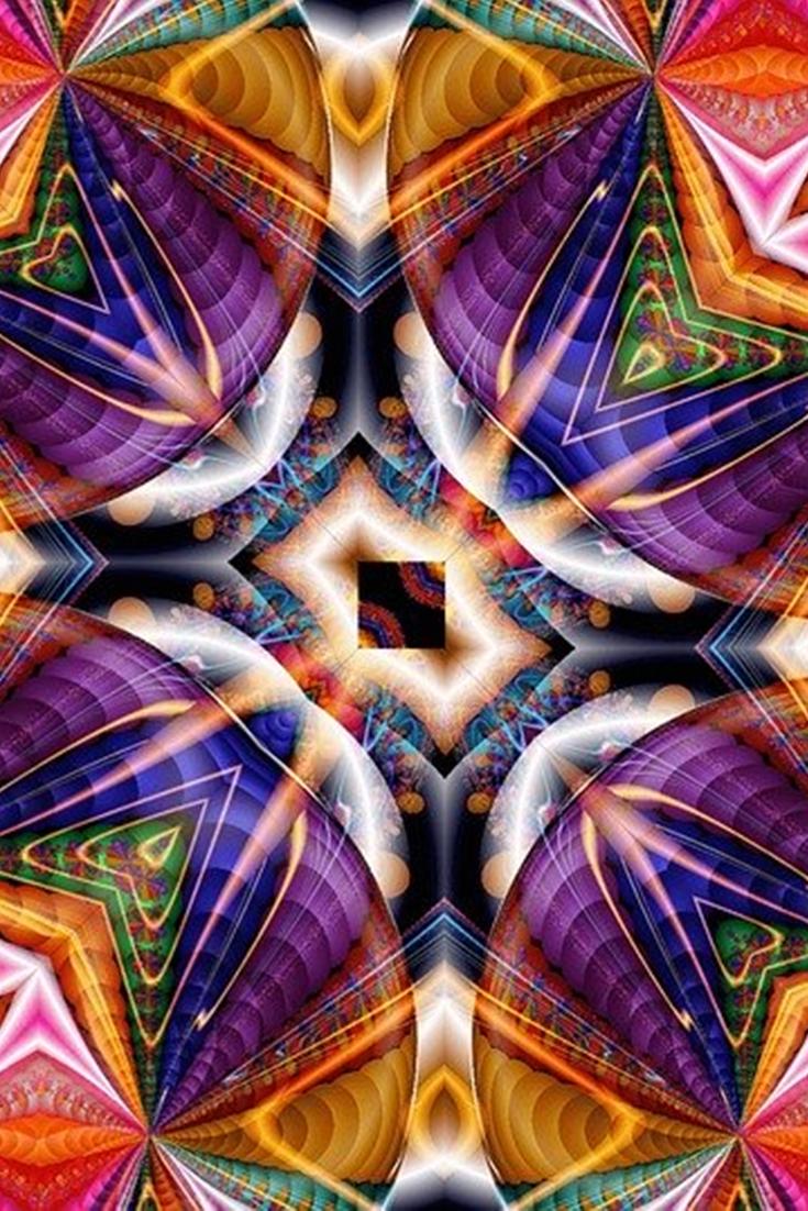 Best Iphone Kaleidoscope Wallpapers Hd Best Iphone Wallpaper Kaleidoscope