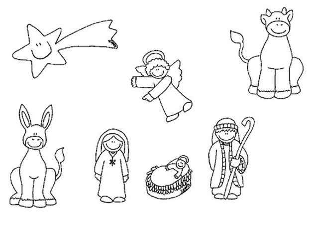 Imagenes De Belenes Para Imprimir.Resultado De Imagen De Dibujos De Belenes De Navidad