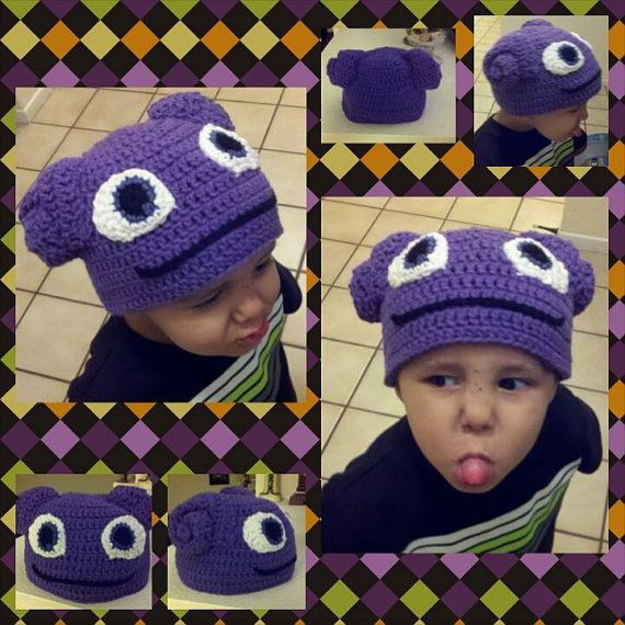 Crochet Inspired by Oh from Home Boov Hat Home by MaxineVelasquez ...