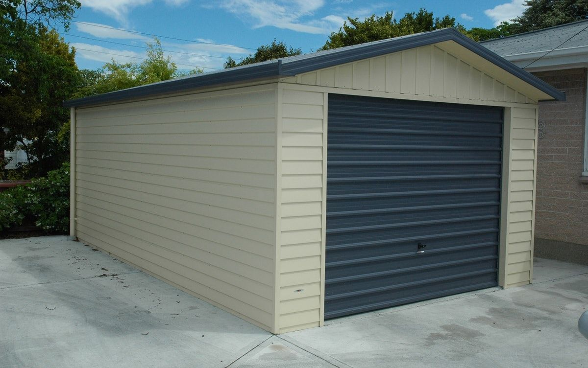 Single Garage Versatile Garage Coloursteel Grey Door
