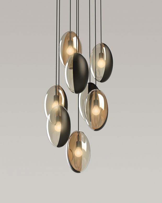 pendant lamp | lighting . Beleuchtung . luminaires | Design: Tamera Leigh Staten @ ICFF |