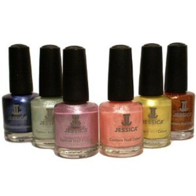 I\'m learning all about Jessica Nail Care Collection De-Yellowing ...