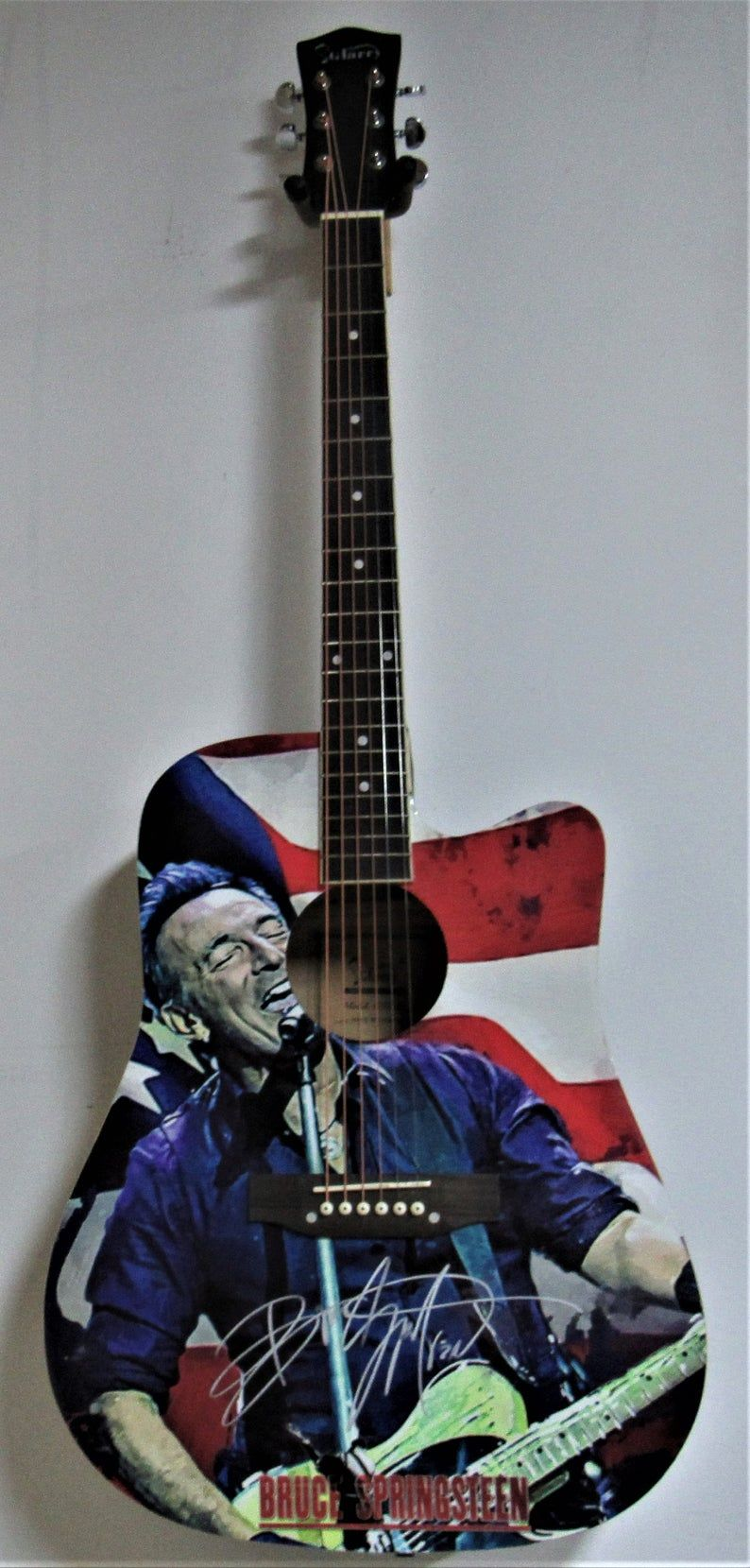 Bruce Springsteen Autographed Guitar in 2020 Bruce