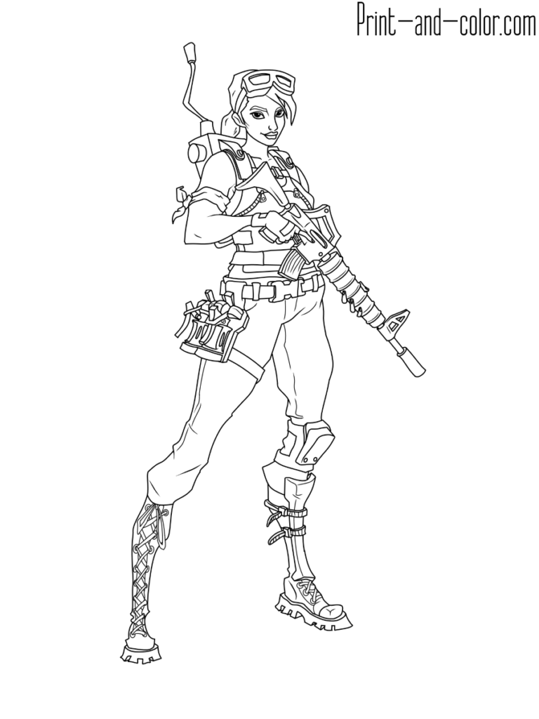 Fortnite Coloring Pages Print And Color Com Coloring Pages Dance Coloring Pages Cool Coloring Pages