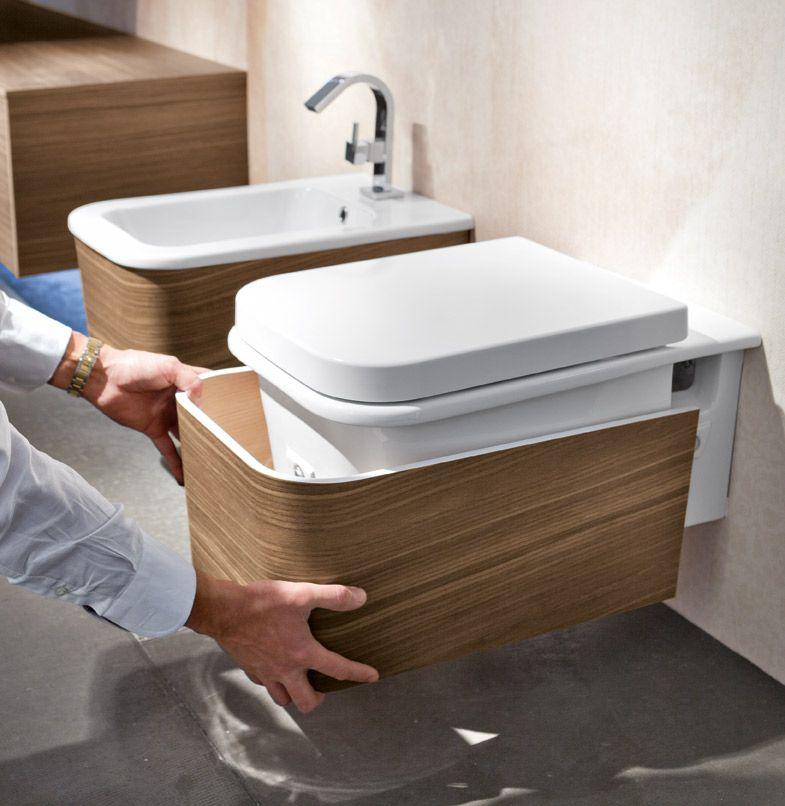 profili netti e superfici pulite per un arredo bagno moderno e dal ... - Bagni Moderni Legno