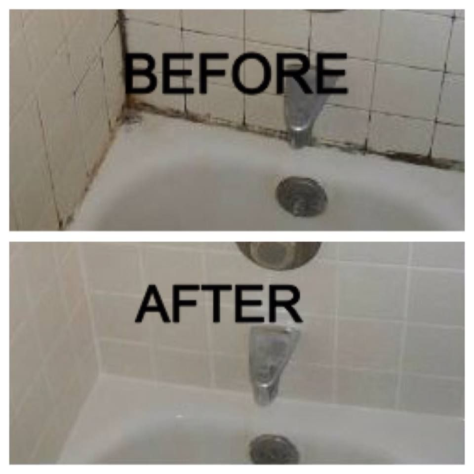 Regrouting will make your tiled area look new again stop leaks
