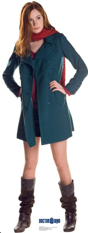 Amy Pond - Doctor Who Lifesize Standup  sc 1 st  Pinterest : doctor who companion costume  - Germanpascual.Com