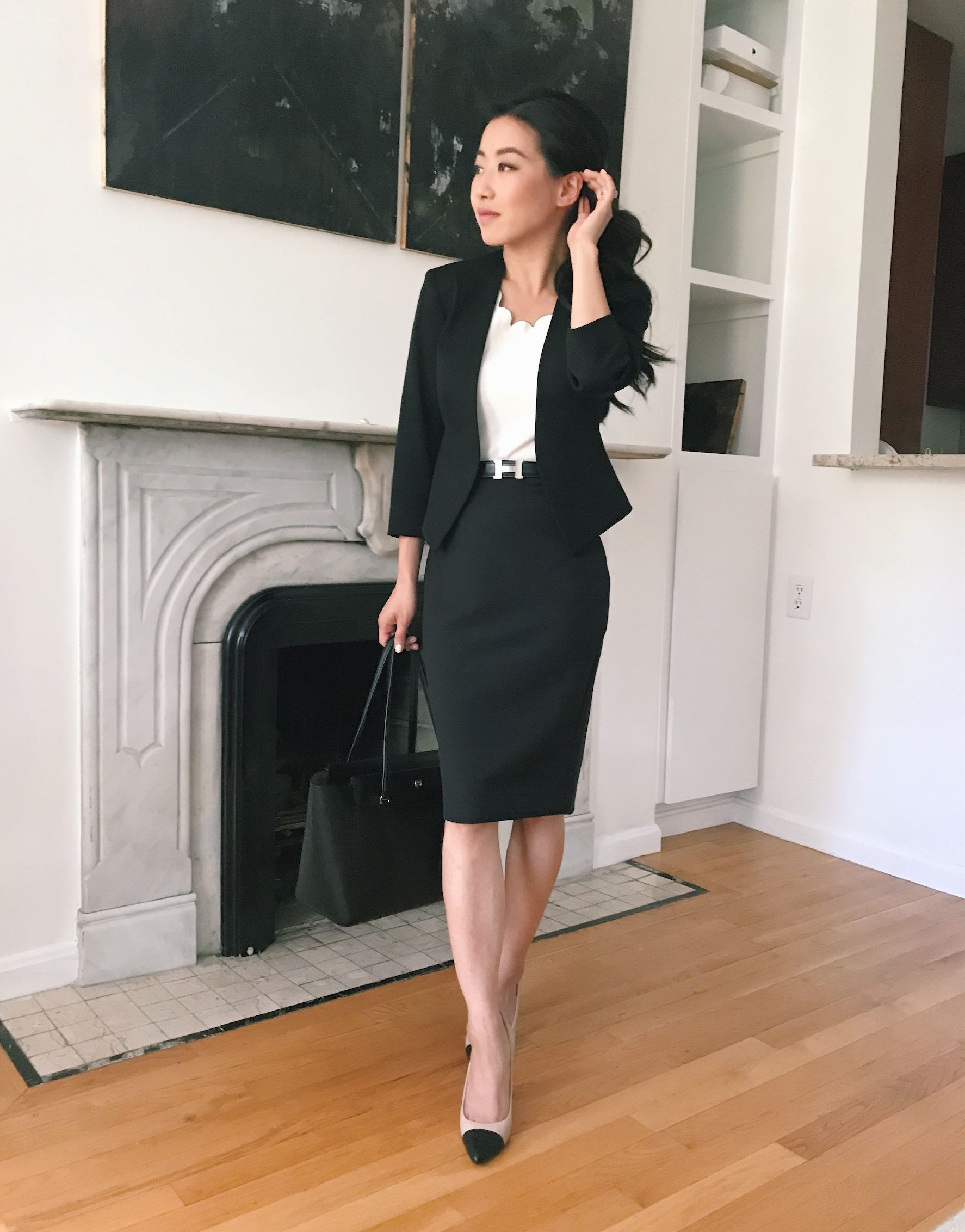 Stylish Black Pencil Skirt Outfit Ideas Extra Petite Pencil Skirt Outfits Black Pencil Skirt Outfit Black Skirt Outfits [ 2264 x 1774 Pixel ]