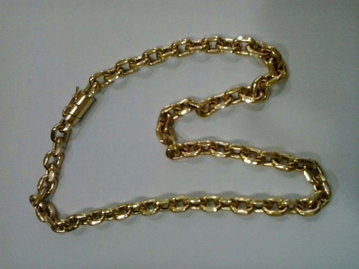a091b7adc89 Cordão Cartier ( Cadeado) Em Ouro 18 K 750