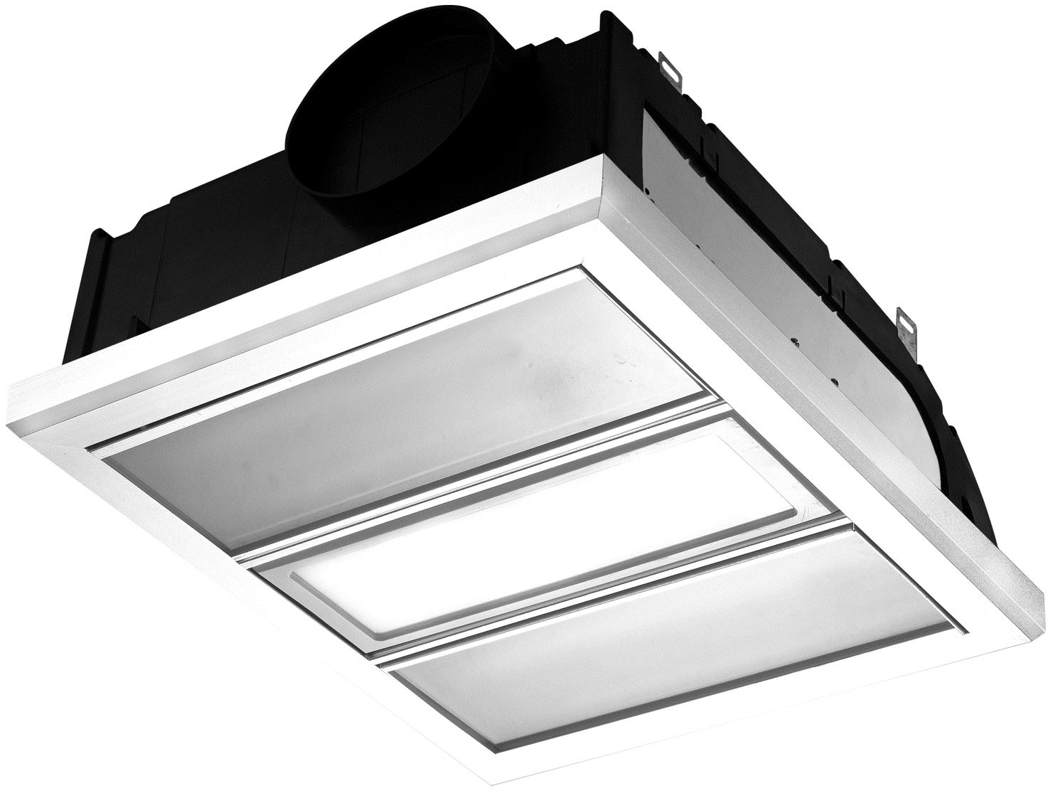 Bathroom Heater 3 In 1 Infrared Heat Strip W Exhaust Fan Led