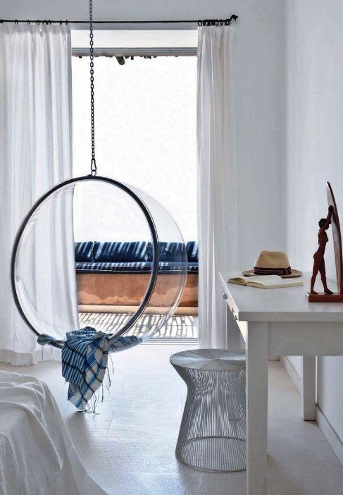 Habitat Beyond Hanging Around Bubble Chair Swinging Chair Indoor Swing Chair